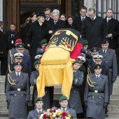 Abschied von Altpräsident Weizsäcker