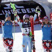 Ski-Damen jubeln doppelt