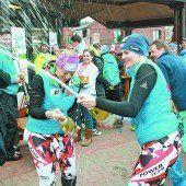 ÖSV-Damen feierten ausgelassen das Edelmetall