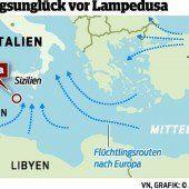 Mehr als 330 Migranten ums Leben gekommen