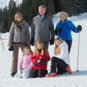 Royals im Vorarlberger Schnee