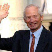 Fürst Hans-Adam II. von Liechtenstein ist 70