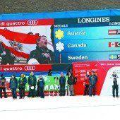 Die Arlberg Lounge fiebert beim Team-Gold mit