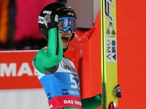 Groß ist die Vorfreude bei Eva Pinkelnig auf die erste WM-Teilnahme. Die Skispringerin wurde für Falun nominiert. Foto: gepa