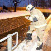 Mann stürzt in Emsbach