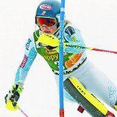 Shiffrin bleibt im Slalom unschlagbar