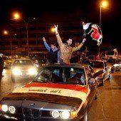 Iraker feiern Ende der Ausgangssperre