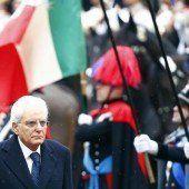 Mattarella beklagt ein verwundetes Italien