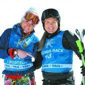 Ein Sieg für Österreichs Ski-Legenden