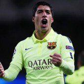 Suárez lässt Barcelona jubeln