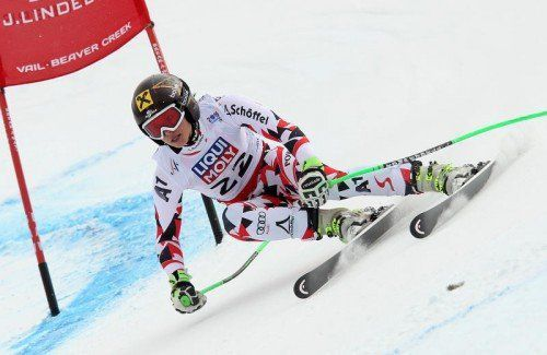 Kann in der Abfahrt befreit angreifen: Super-G-Weltmeisterin Anna Fenninger. Foto: gepa