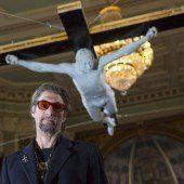 Ausstellung zeigt Pete Doherty am Kreuz