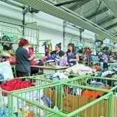 Altkleidermarkt stark unter Druck geraten