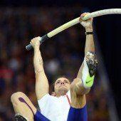 Weltrekordler Lavillenie hat 6,01 überquert