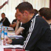 Referees schwitzten in der Türkei