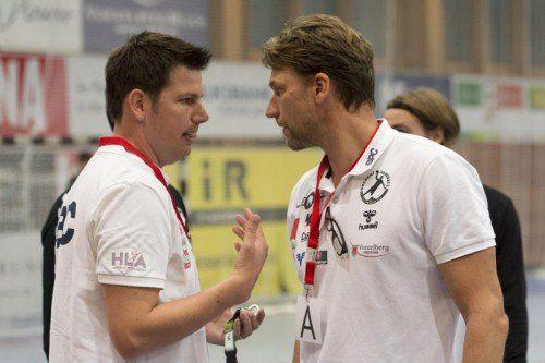 Markus Rinnerthaler (l.) und Robert Hedin. Foto: vn/DS