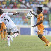 Ghana souverän im Afrika-Cup-Halbfinale
