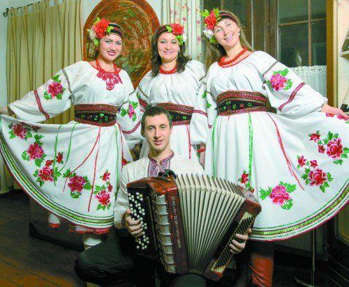 """Musikgruppe """"Kupalinka"""" aus Odessa (noch bis 1. Februar im Schützenhaus). Fotos: Anastasia Gerasimova"""