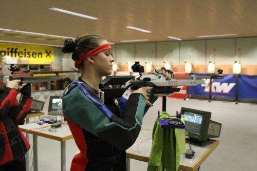 Natalie Mallin qualifizierte sich vorzeitig für die Europameisterschaft Anfang März in Arnheim. Foto: schwämmle