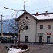 Bahnhofsplatz Ludesch nun gut ausgeleuchtet