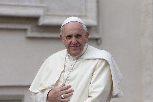 Papst Franziskus sorgt erneut für Kontroversen.  Foto: AP