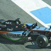 Mercedes ließ Wehrlein ans Steuer