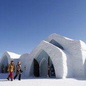 Ein wahres Märchenschloss für Schneekönige