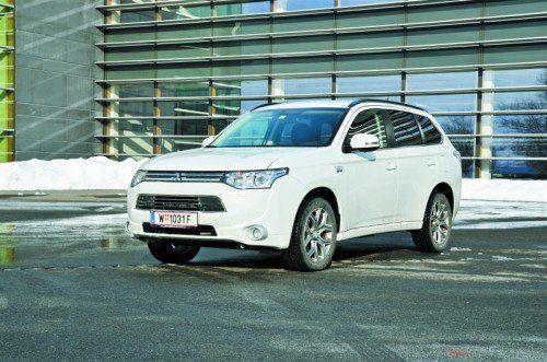 Plug-In-Hybrid bei einem SUV mit Allradantrieb: Mitsubishi bietet innovative Technik zum fairen Preis. Fotos: vn/Gasser