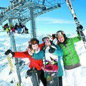 Wintersportwetter wie aus dem Bilderbuch