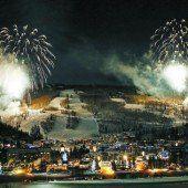 Ein Feuerwerk eröffnete die Ski-WM in Vail