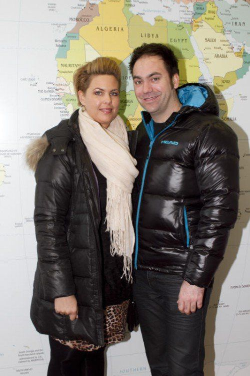 Reisefreudig: Sabine Goller und Thomas Leo. Fotos: Franc