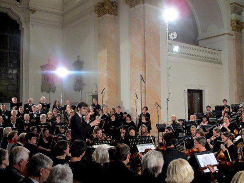 Chorakademie Vorarlberg unter Markus Landerer.