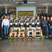 Neues Radteam Vorarlberg mit zwei Lokalmatadoren
