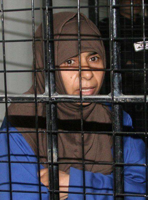 Sajida al-Rishawi wurde in Jordanien hingerichtet.  FOTO: REUTERS