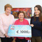 1000 Euro für Ma hilft