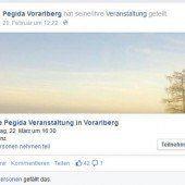 Pegida will am 22. März auf den Leutbühel