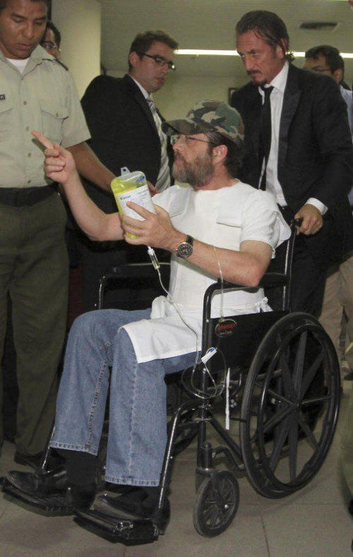 Sean Penn verhalf Jacob Ostreicher zur Flucht. Foto: AP