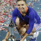 Halep holt sich ihren zehnten WTA-Titel