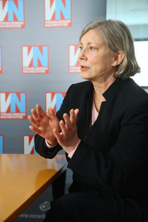 Streitgespräch. Thema: Abtreibung in öffentlichen Spitälern. Gabi Sprickler-Falschlunger und Cornelia Michalke diskutieren über dieses Thema