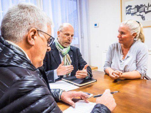"""""""Unsere Ziele sind das Schaffen guter Jobs und die Erhaltung einer gesunden Landwirtschaft"""": Bürgermeister Scharler im VN-Interview."""