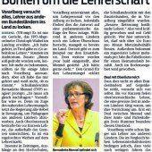 Lehrermangel in Vorarlberg