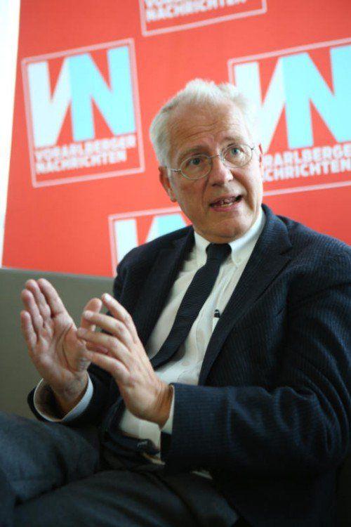 VN Gast Hans-Peter Martin