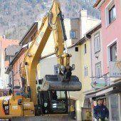 Kanalarbeiten in der Mühlgasse wieder im Gang