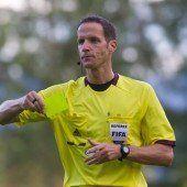 Referee Drachta macht Sprung