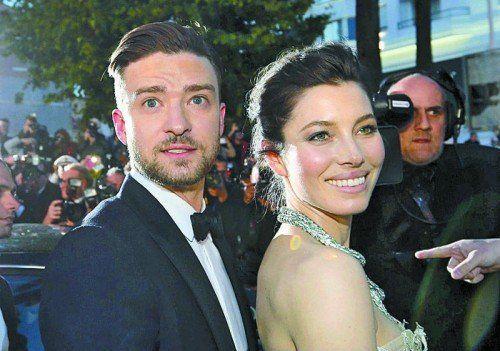 Werden Eltern: Jessica Biel und Justin Timberlake. Foto: ap