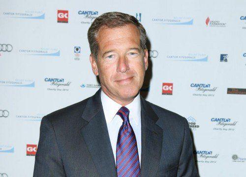 """Williams moderiert die """"NBC Nightly News"""" seit 2004. Foto: AP"""