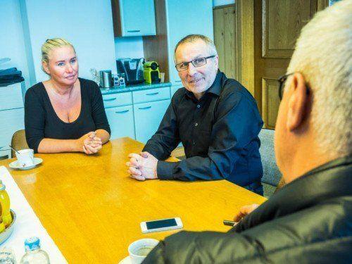 """""""Wir haben eine relativ gute Finanzsituation und können uns ein Gemeindehaus um 2,2 Millionen Euro leisten"""": Gemeindechef Hartmann."""