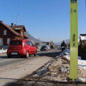 Gefährliche Straßenstelle in Wolfurt