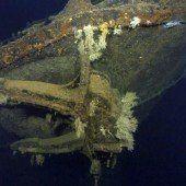 US-Milliardär findet Schlachtschiff-Wrack
