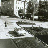 Bregenz einst und jetzt. Der Kornmarktplatz im Wandel der Zeit